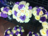 LMF4L WEDDING PARTY PACKAGE/LAVS BRIDE OR BRIDESMAID BOUQUETS