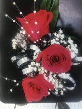 LMFFL RED ROSE CORSAGE CORSAGE/WRIST