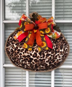 LOCAL ARTISAN AUTUMN DOOR PENDANT  in Arlington, TX | Pantego Florist & Gifts