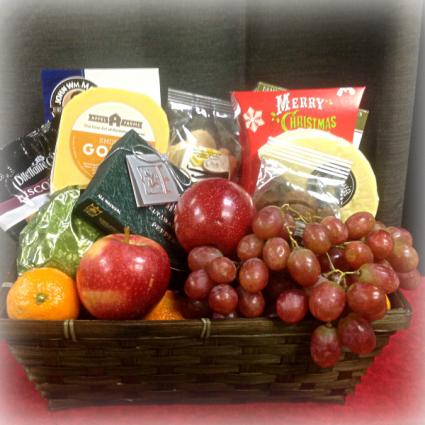 local gourmet food basket gift basket