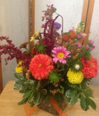 Local grown fresh flowers