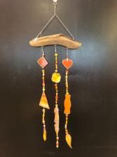 Locally crafted Yellow & Orange sun catcher
