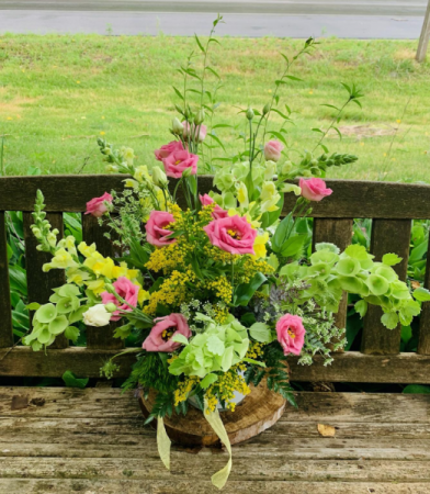 Locally Grown  Floral Arrangement