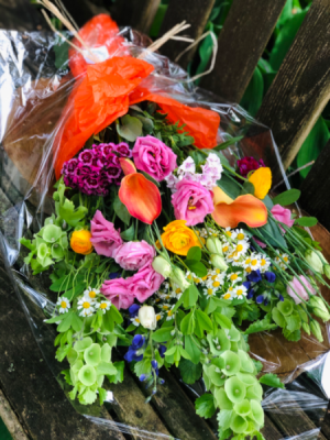 Locally Grown Stems  Wrap Bouquet in Iowa City, IA | Every Bloomin' Thing