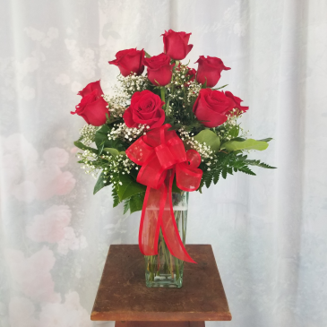 LOG CABIN ROSE SPECIAL ROSE ARRANGEMENT