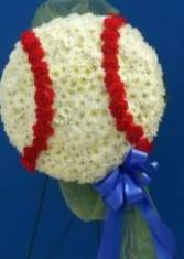 Log Cabin Florist Custom Baseball