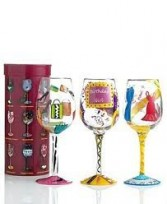 Lolita Wine Glass* Fine Gifts