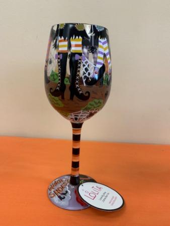 Lolita's Witch Shoes Wine Glass Lolita Wine Glass