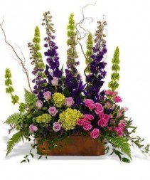 Long Cluster Container Arrangement Basket