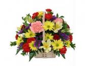 long lasting valentines  Basket Arrangement