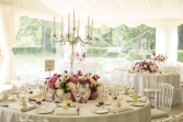 Long Low Table Centrepieces  Wedding & Event Flowers