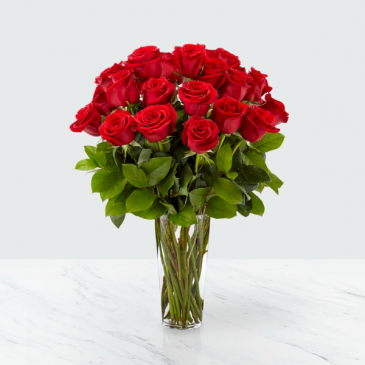 LONG STEM RED ROSE Valentine
