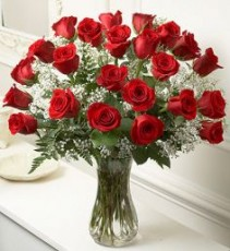 Long Stem Red Roses Irresistible Bouquet