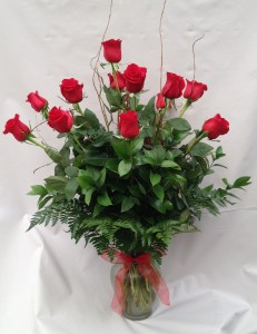 Long Stem Red Roses in Milwaukie, OR | Mary Jean's Flowers by Poppies & Paisley