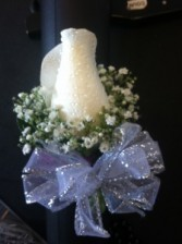 Long Stem Rose Wrist Corsage
