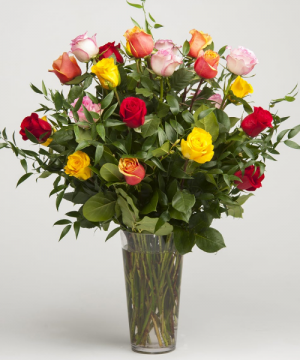 Long Stem Roses  Let Us know your Favourite Colors  in Oakville, ON | ANN'S FLOWER BOUTIQUE-Wedding & Event Florist