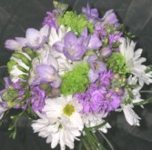 Look of springtime bouquet