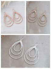 Divergence earrings Glee jewerly