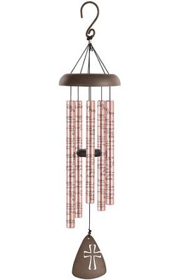 """LORD'S PRAYER 30"""" ROSE GOLD CHIME"""