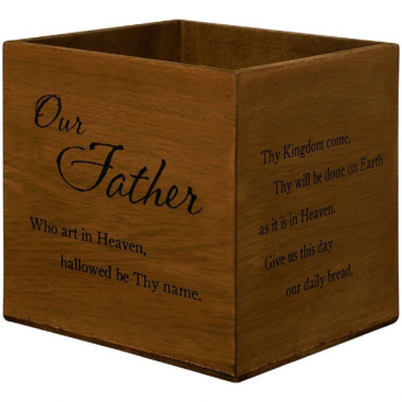 Lords Prayer Box