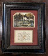 Lord's Prayer Framed Picture