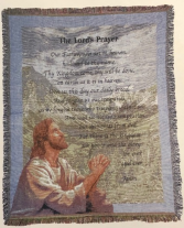 Lord's Prayer Throw 50X60 Throw