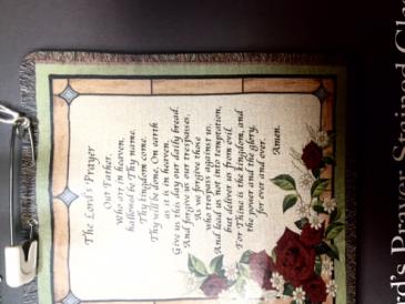 Lord's Prayer Throw