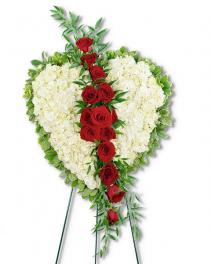 Lost Love Heart Sympathy Arrangement