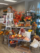 Lots of Fall Silk Arrangements Please call if you would like to order something you see!