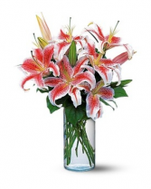 Lots of Lilies Vase All