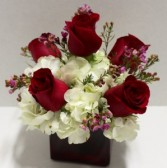 Hearts on Fire Fresh Flower Arrangement