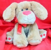 Lots of Love Pup plush Animal Gift Item