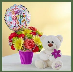Lotsa Love Birthday Very Cute! in Arlington, TX | Erinn's Creations Florist