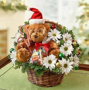 Lotsa Love® for Christmas Basket Arrangement