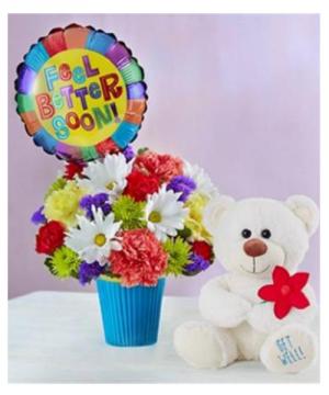 Lotsa Love Get Well Best Seller! in Arlington, TX | Iva's Flower Shop