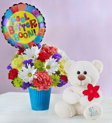 Lotsa Love Get Well Soon Gift Bouquet Set