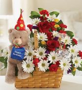 Lotsa Love Happy Birthday Basket