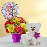 Lotsa Love Happy Birthday Gift Bouquet Set