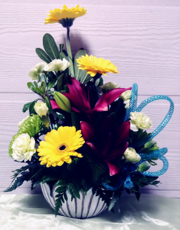 Lotus Bowl Floral Design
