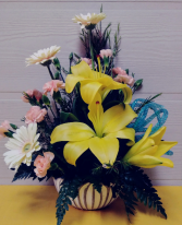 Lotus Bowl Floral Design