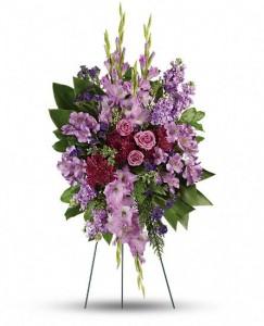 Lovable Purple Flower Spray