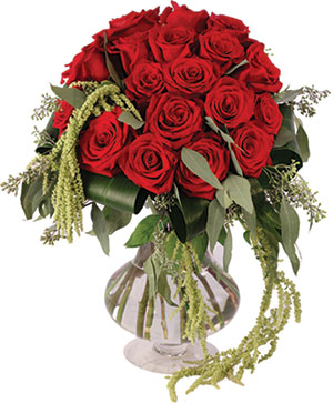Love & Amaranthus Rose Design in Ozone Park, NY | Heavenly Florist