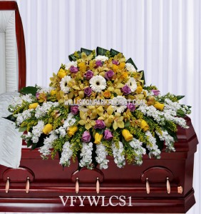 Love and Devotion Casket Spray Casket Spray Flowers