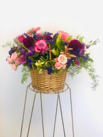 LOVE AND JOY FLORAL BASKET Floral Basket