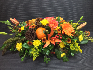 To Family and Friends... Fall Centerpiece in Boise, ID | HEAVENESSENCE FLORAL & GIFTS