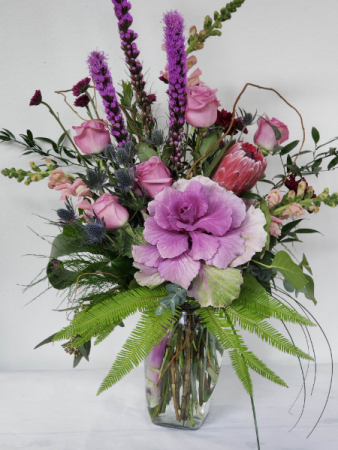 Love and Lavendar Mixed Bouquet