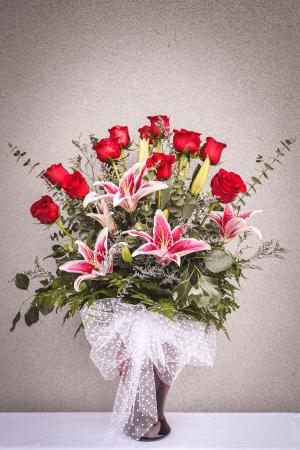 Love and Lilies Arrangement