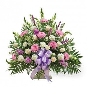 Love and Loss Funeral Basket