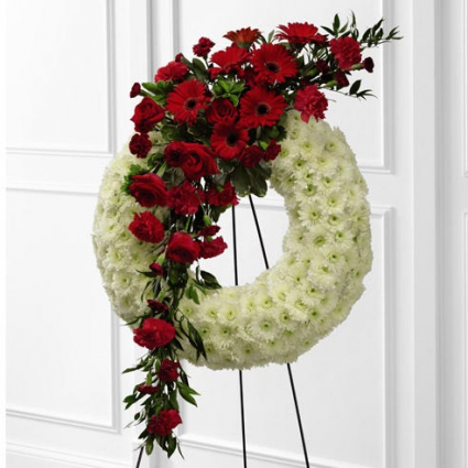 Love and Peace Standing Wreath