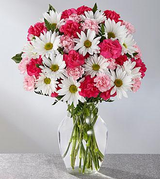 love and romance  vase arrangement